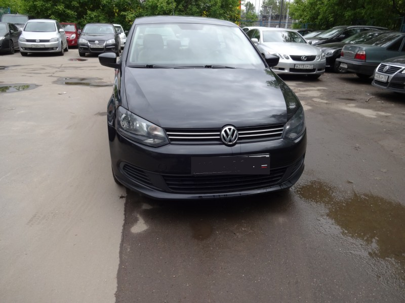 Volkswagen Polo 2013 АТ 1,6 л.