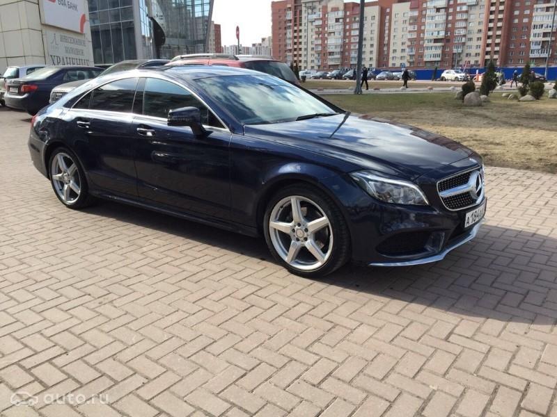 Mercedes-Benz CLS 30 2015 АТ 3,0 л.